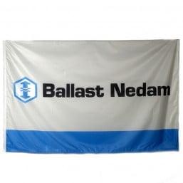 Ballast Nedam baniervlag 400x100 cm