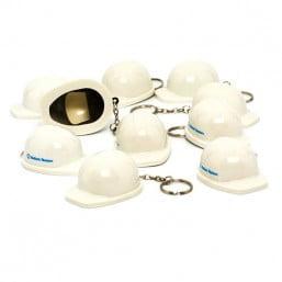 Ballast Nedam sleutelhanger / flessenopener (wit)